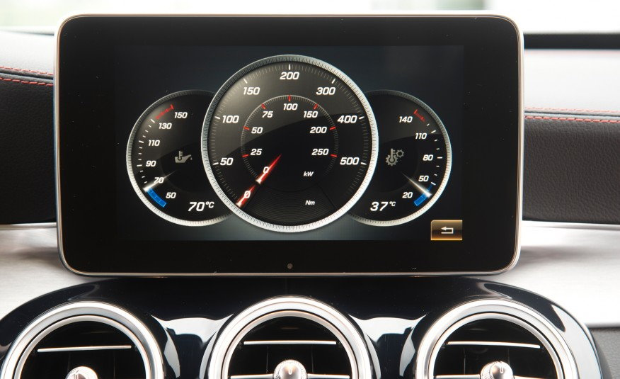Digital HP and Torque Gauges on LCD Screen? - MBWorld org Forums
