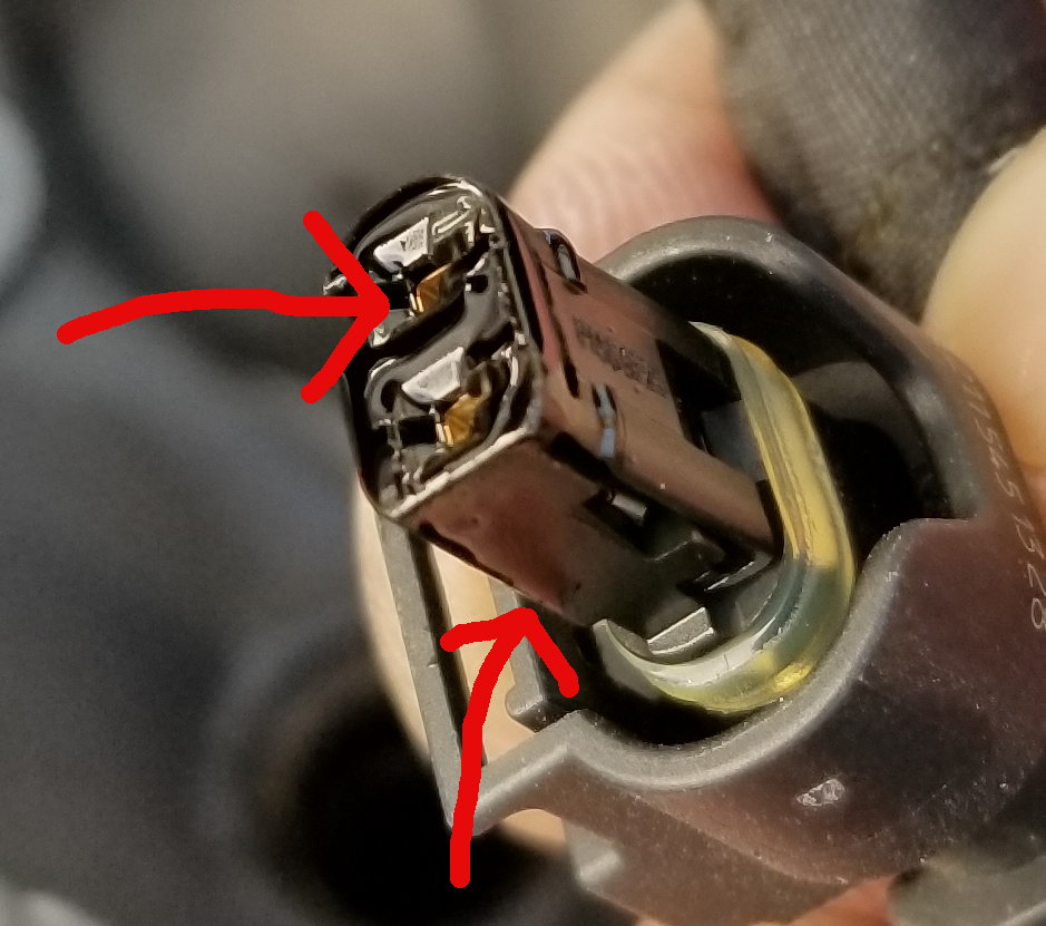 oil on fuel injector harness/plug? - MBWorld org Forums