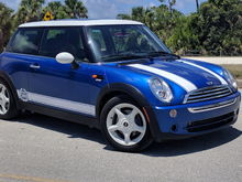 2005 R50 in Hyper Blue