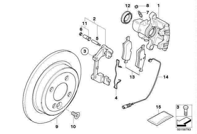 Rear knocking noise when braking Mini R50 - North American
