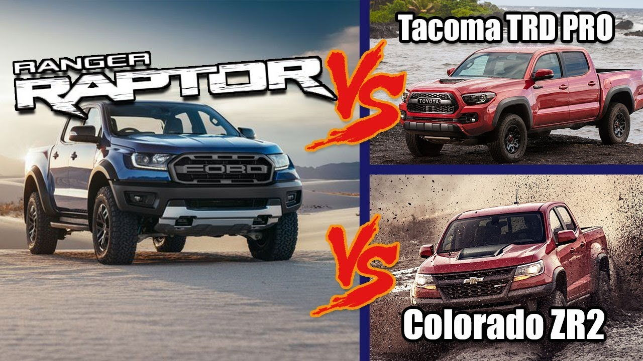 Every Stat we know about the Ranger Raptor Vs the Chevy ...