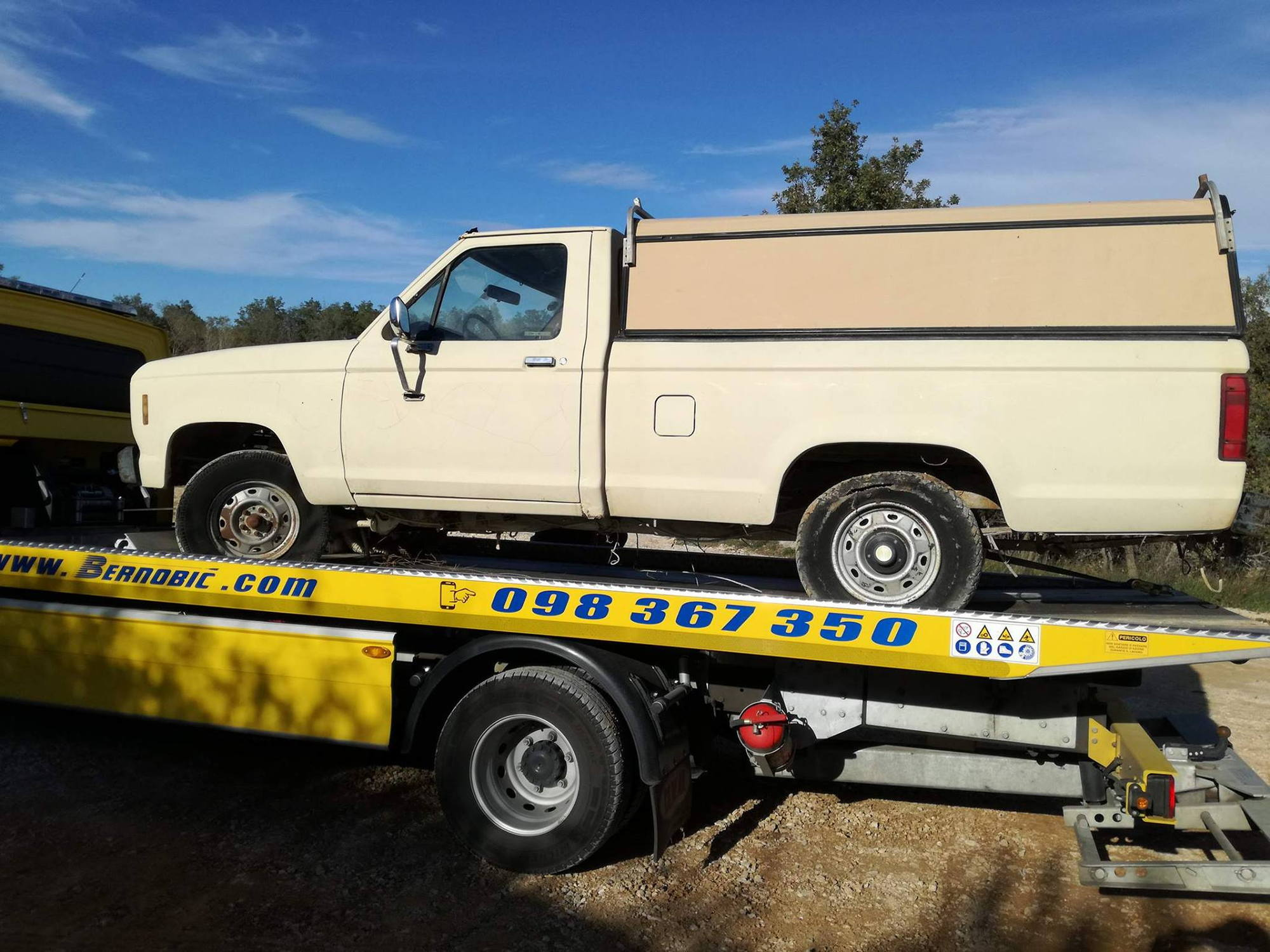 Project Ford Ranger 1983