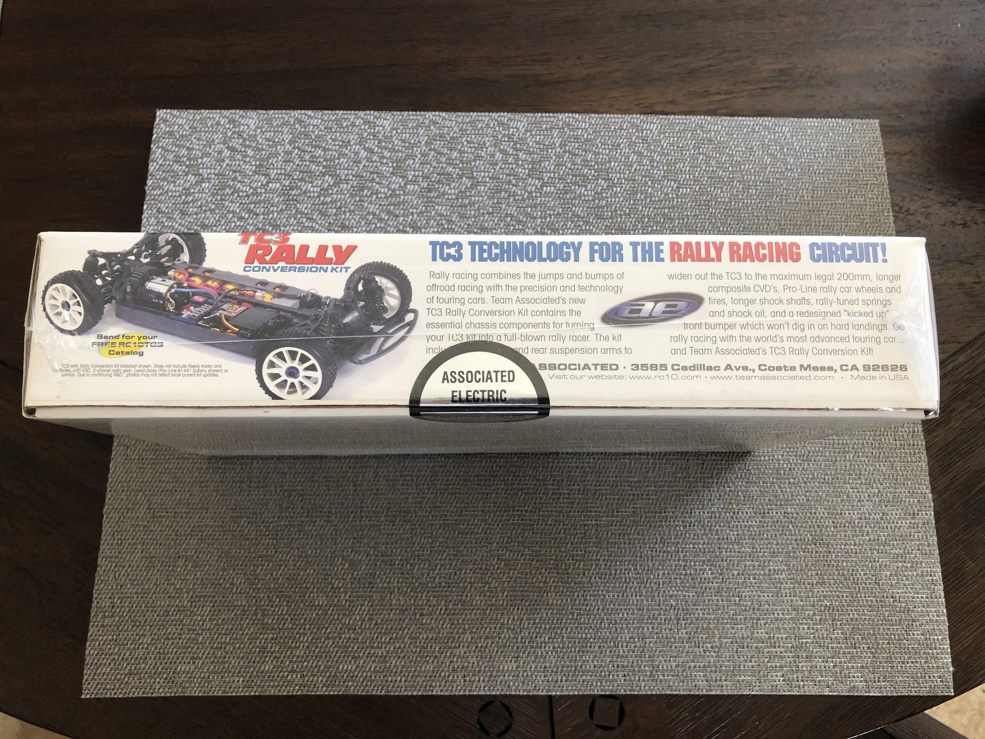 TEAM ASSOCIATED TC3 Rally Conversion Kit #3020 NIB NEVER