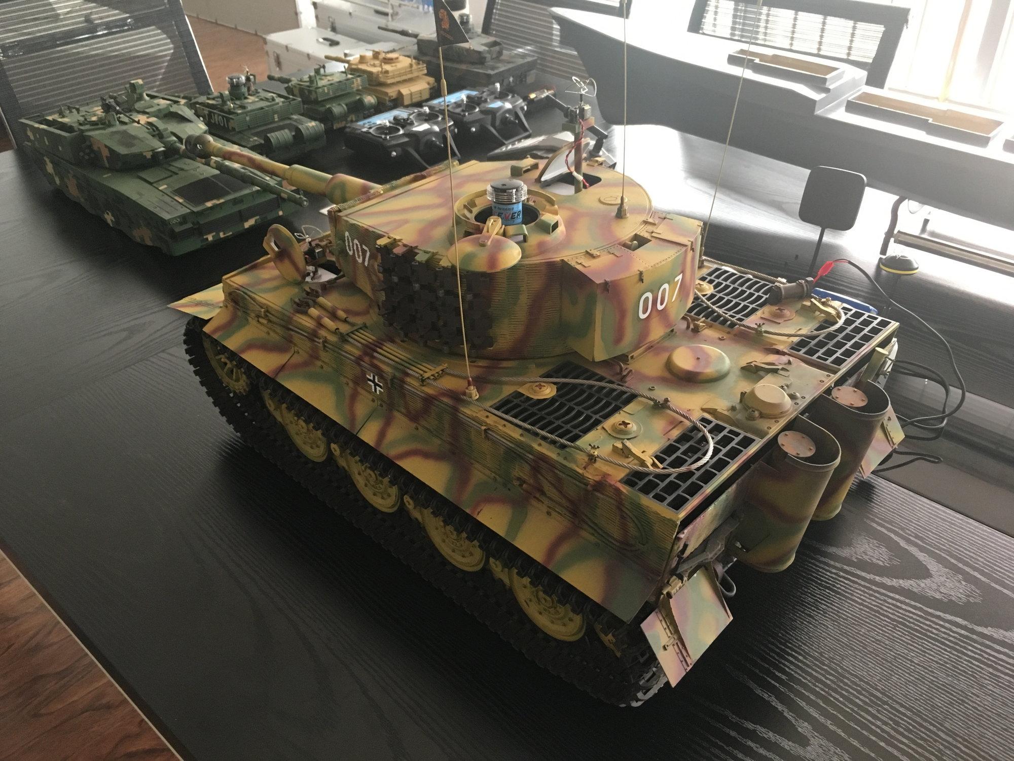 Hooben 1/16 rc tank M26,elephant,tiger.photo update - RC Groups