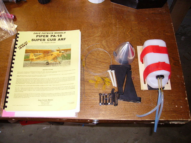 WANTED - Instruction Manual for Dave Patrick 1/4 Scale Piper