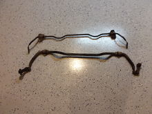 Front and rear GTUs sway bars with dog bones $100