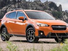 New Subaru Crosstreck (2019) in Orange.  Yes, orange.  I sometimes call it Pumpkin Spice.