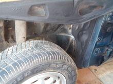 Under fender, shows NO Rust ;)