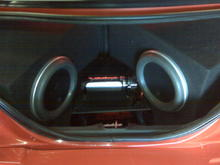 2 jl audio 12's in a mustang