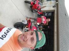 Friday ride on Dad's HAWK
