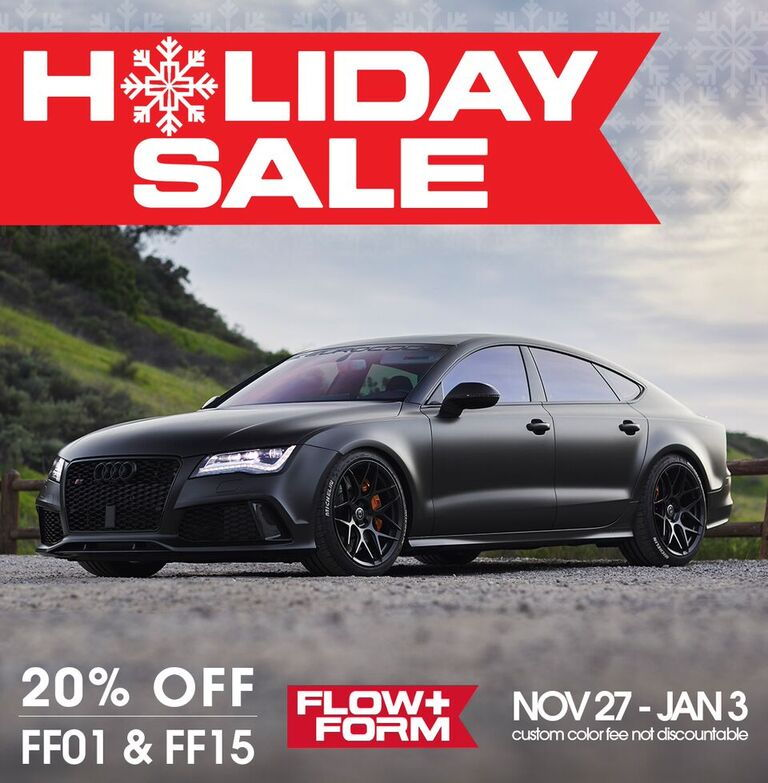 HRE Flow Form Holiday Sale!