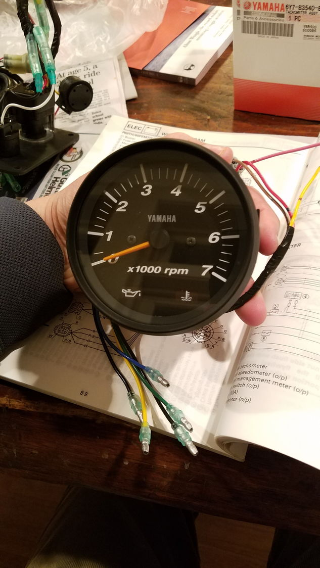 yamaha marine gauge wiring diagram yamaha tachometer wiring help the hull truth boating and  yamaha tachometer wiring help the