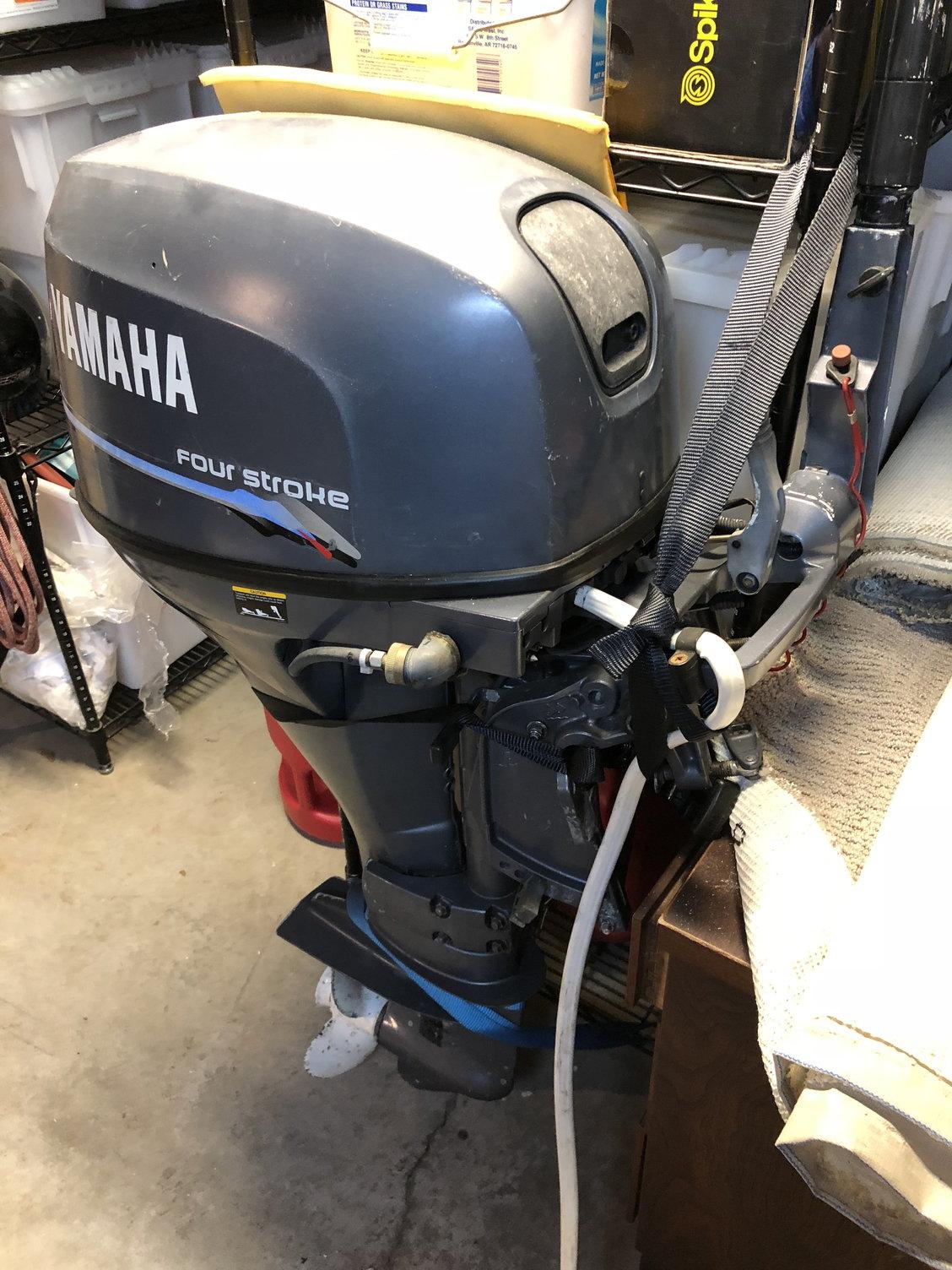 2004 Yamaha 25hp 4-stroke Tiller - The Hull Truth