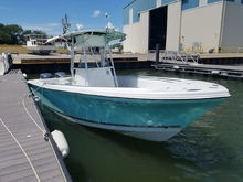 Sailfish - 266.  Would love to see a helm mat in seafoam green.
