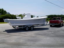 Willis Boatworks 22 off to get powered
