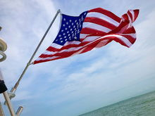 Wavy Flag Stainless Rocket Launcher Flag Pole