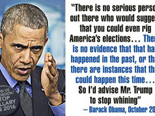 I bet the Ruskies paid Trump to make Obummer say this.