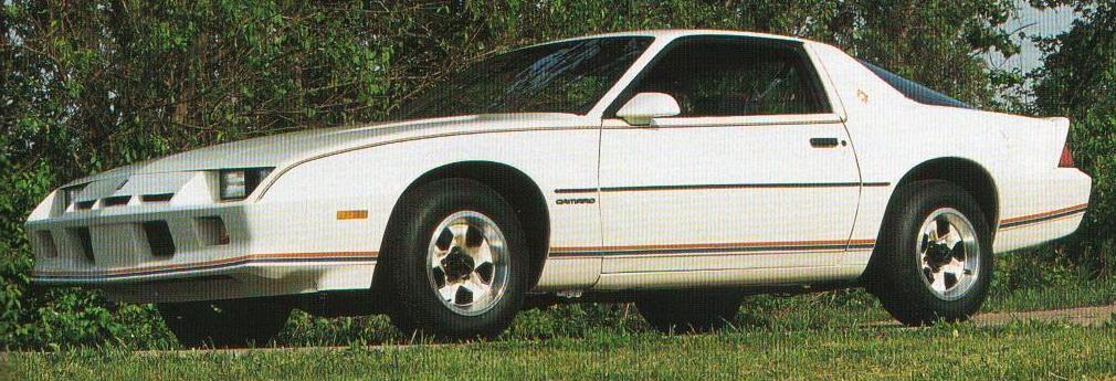 Wtb 1984 1a3 Olympic Edition Camaro Third Generation F