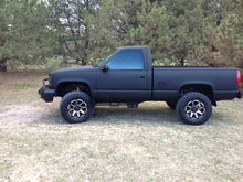 Finished 1995 GMC Sierra 5.0.