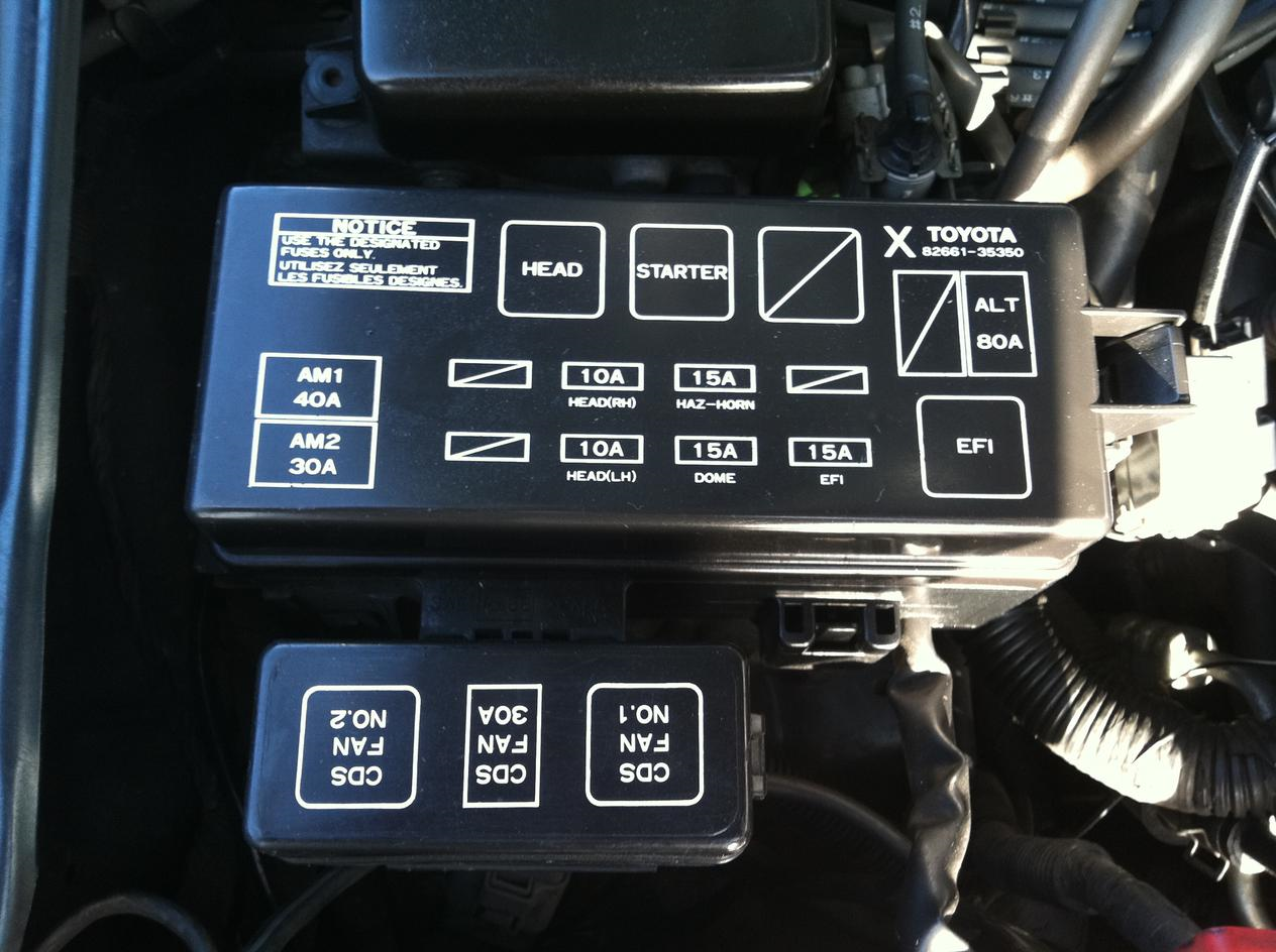 1986 4runner melted engine fuse box/block questions - YotaTech Forums