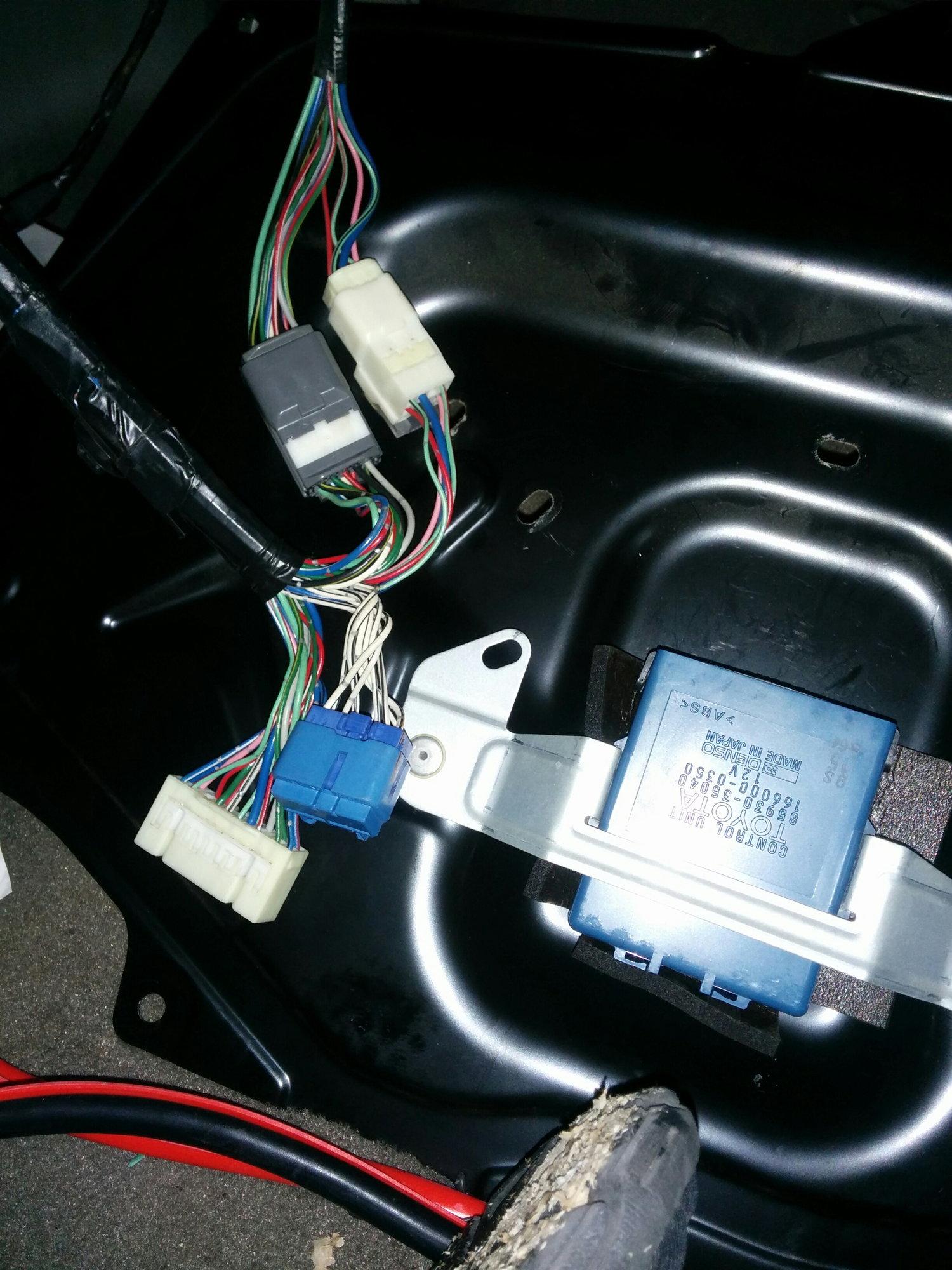 1998 4runner hatch wiring question (rear window, wipers ...