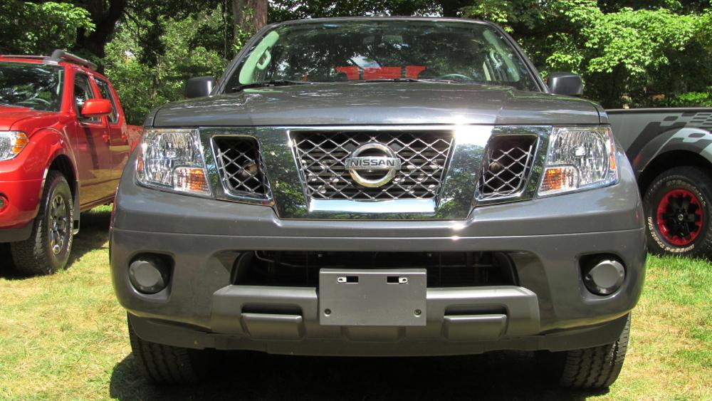 Nissan Frontier Diesel Prototype, Nashville, July 2014