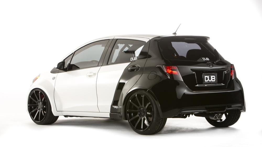 2015 Toyota Yaris DUB Edition, SEMA 2014