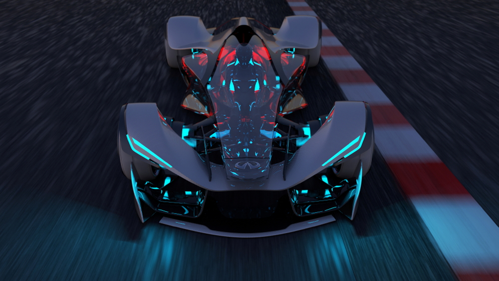 Infiniti Synaptiq concept, 2014 Los Angeles Auto Show Design Challenge