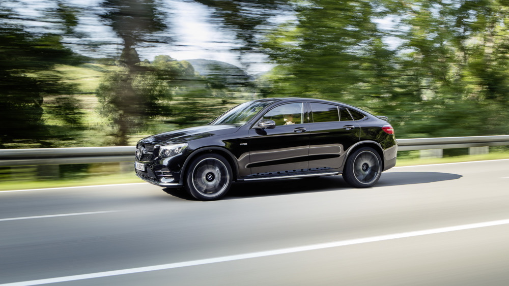 2017 Mercedes-AMG GLC43 Coupe drops cover ahead of Paris