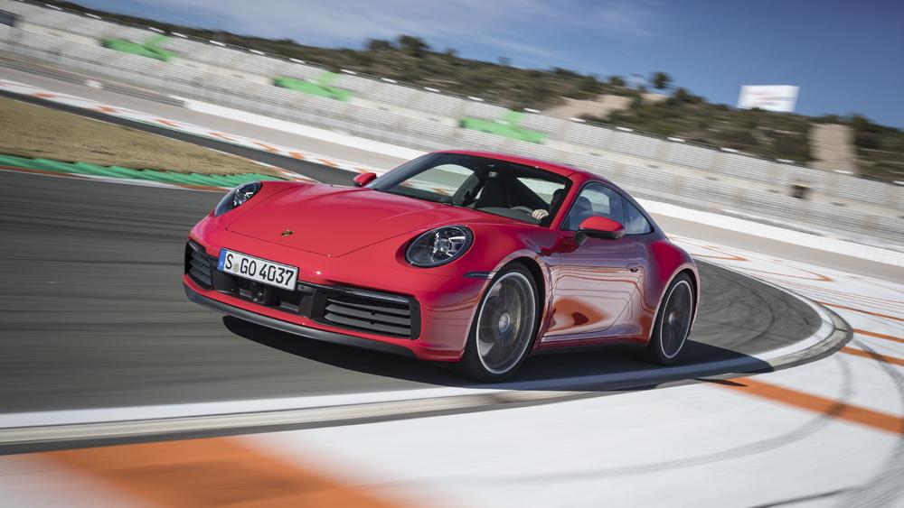 2020 Porsche 911 Carrera S, Circuit Ricardo Tormo, Valencia, Spain, January 2019