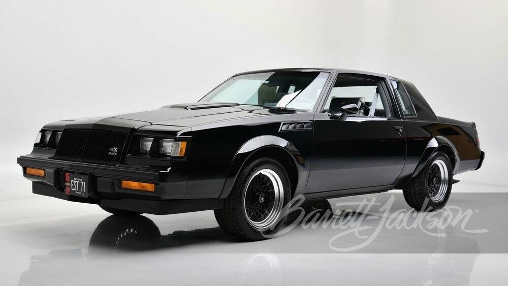 1987 Buick GNX (Photo by Barrett-Jackson)