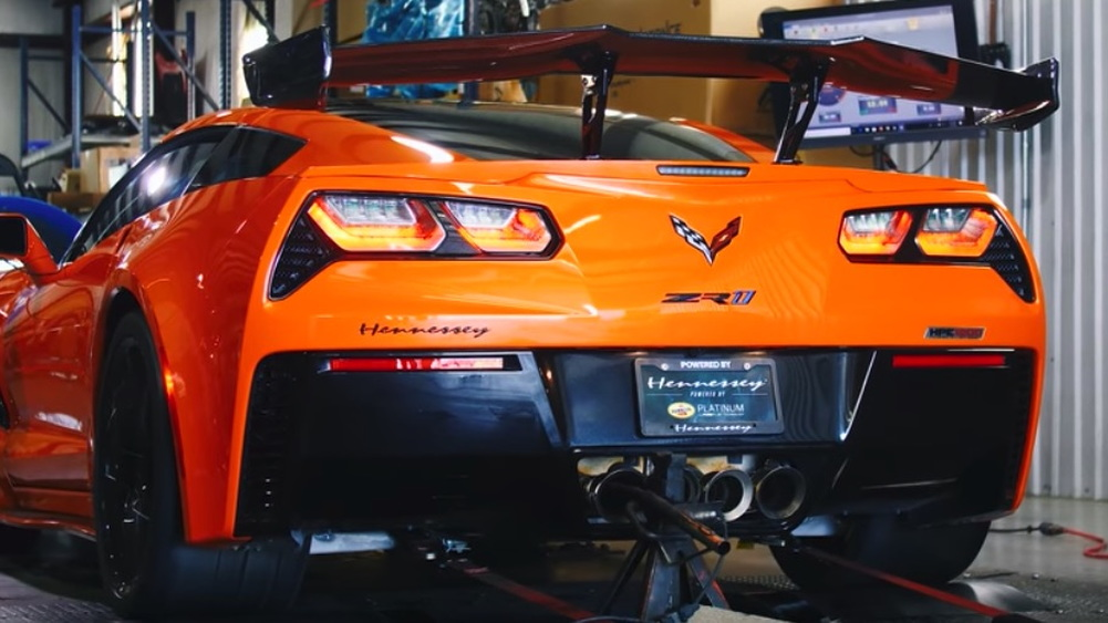 2019 Chevrolet Corvette ZR1 with 1,139 RWHP by Hennessey