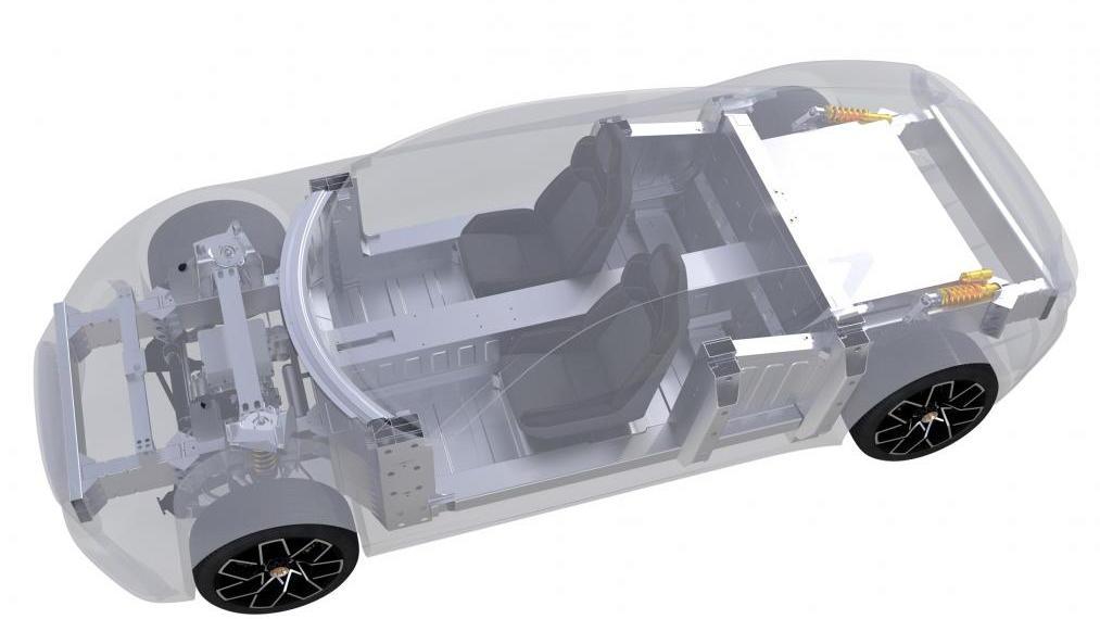 Piech GT-4 Coupe electric car