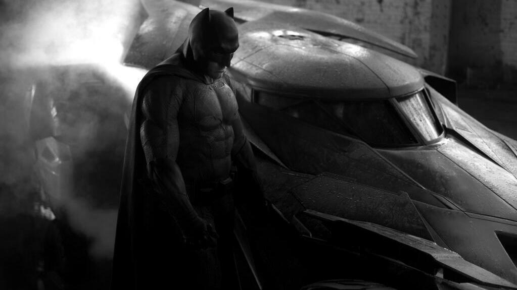 New Batmobile for 'Batman vs. Superman' movie. Image via @ZackSnyder