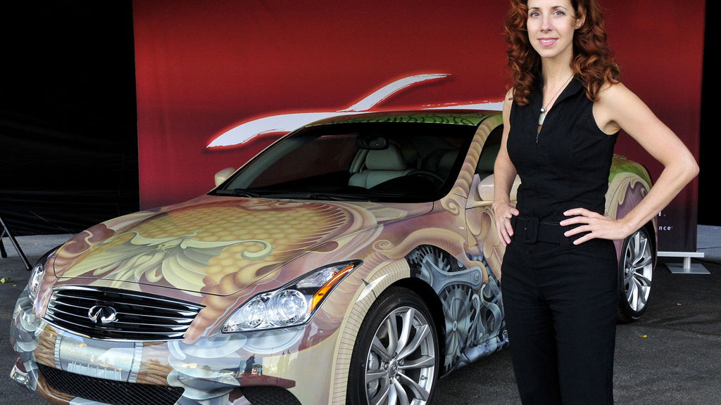 2009 Infiniti G37 Coupe Anniversary Art Car