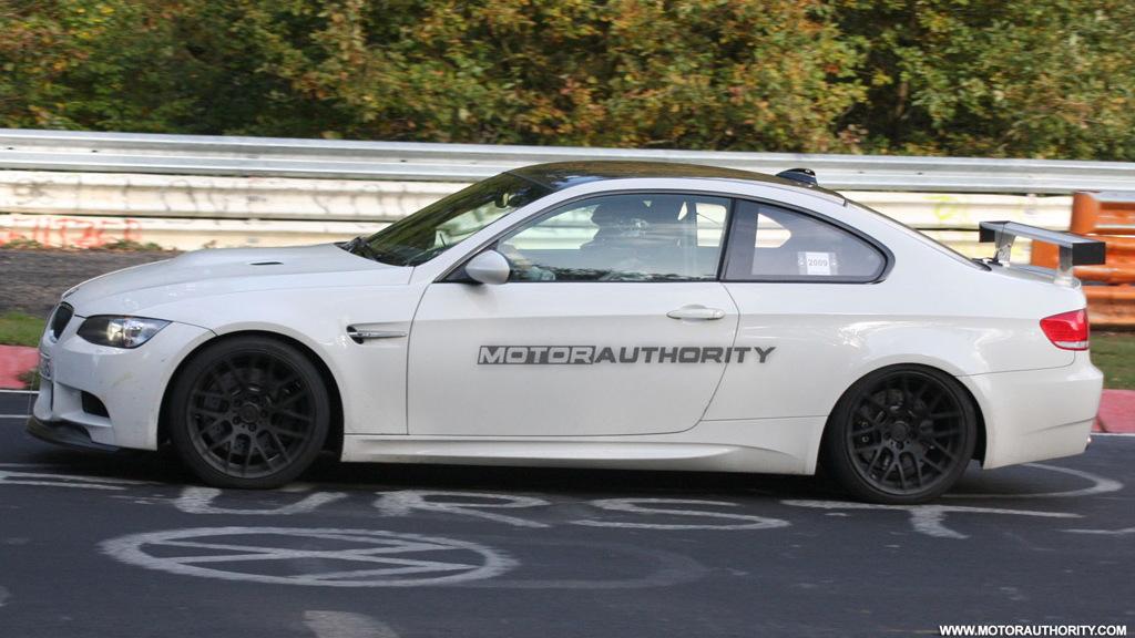 BMW M3 GT spy shots