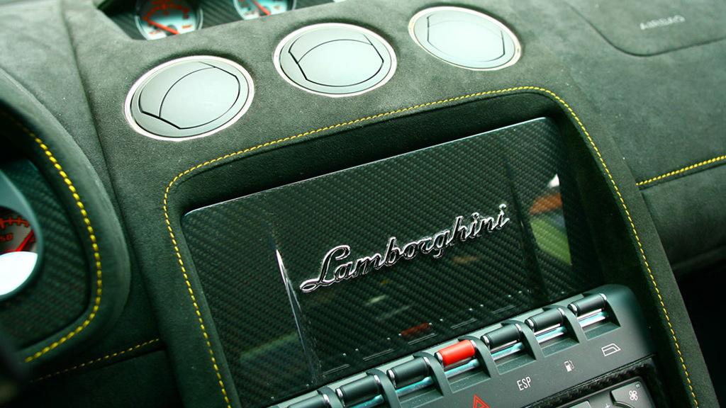 Lamborghini carbon-fiber