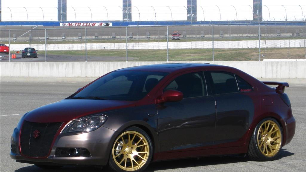 2010 Suzuki Kizashi Concepts for the 2009 SEMA Show