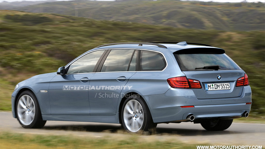 2011 BMW 5-Series Touring rendering