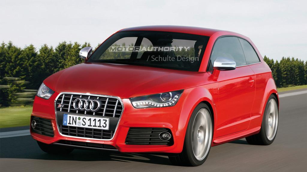 2011 Audi S1 rendering