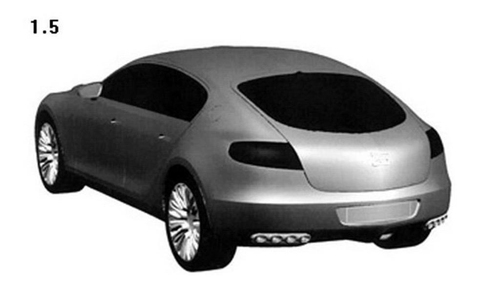 Bugatti Galibier 16C trademark filing