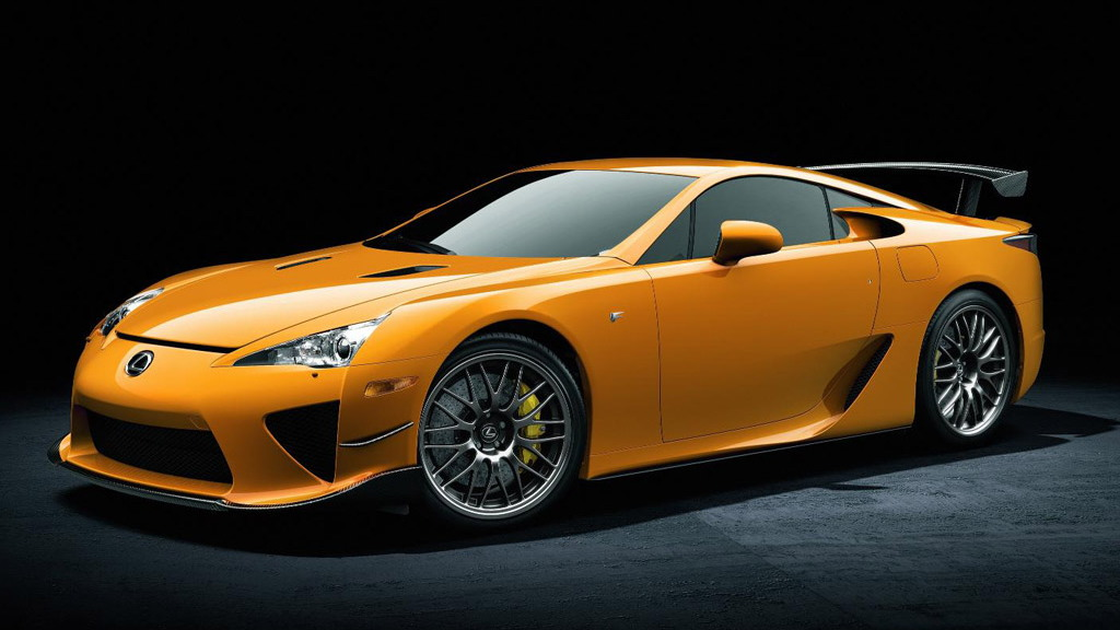 2011 Lexus LFA Nurburgring Package