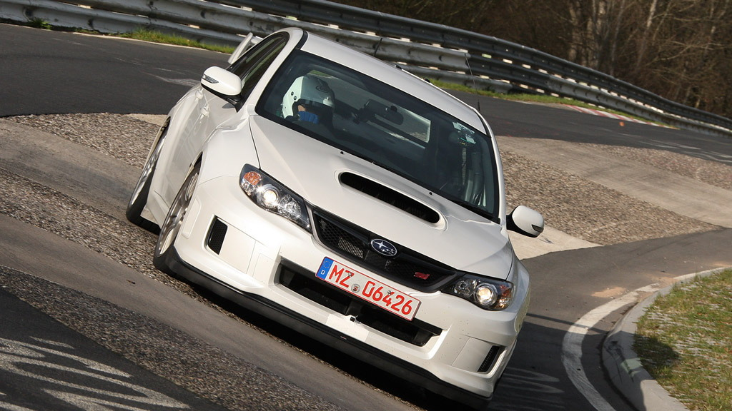 2011 Subaru Impreza WRX STI at the Nurburgring