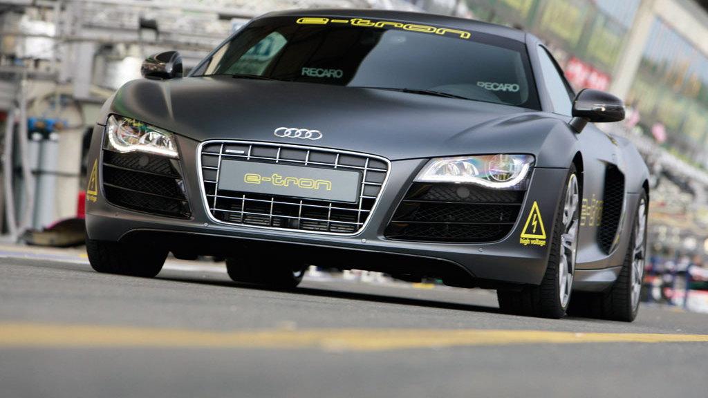 Audi R8 e-tron at Le Mans