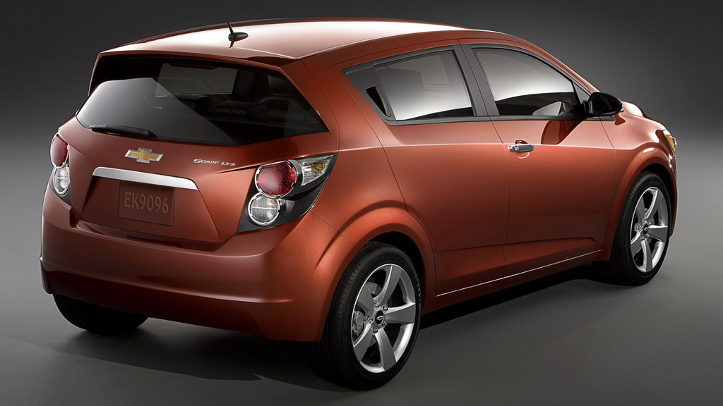 Official 2012 Chevrolet Sonic To Replace Aveo