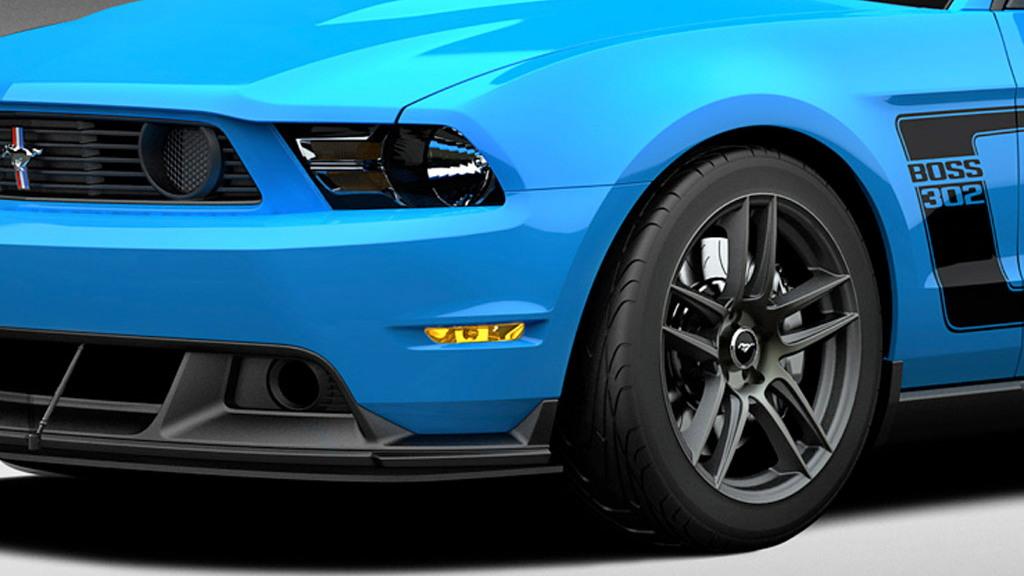Grabber-Blue 2012 Ford Mustang Boss 302 Laguna Seca