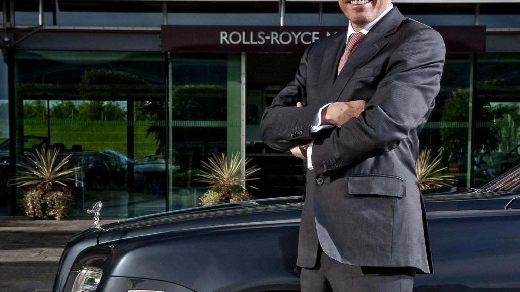 Rolls-Royce CEO Torsten Müller-Ötvös