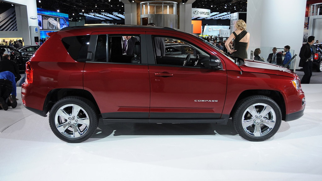 2011 Jeep Compass live photos. Photo by Joe Nuxoll.