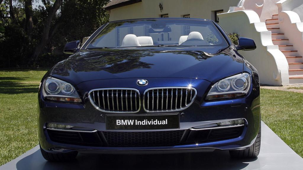 BMW Individual 2012 BMW 6-Series Convertible