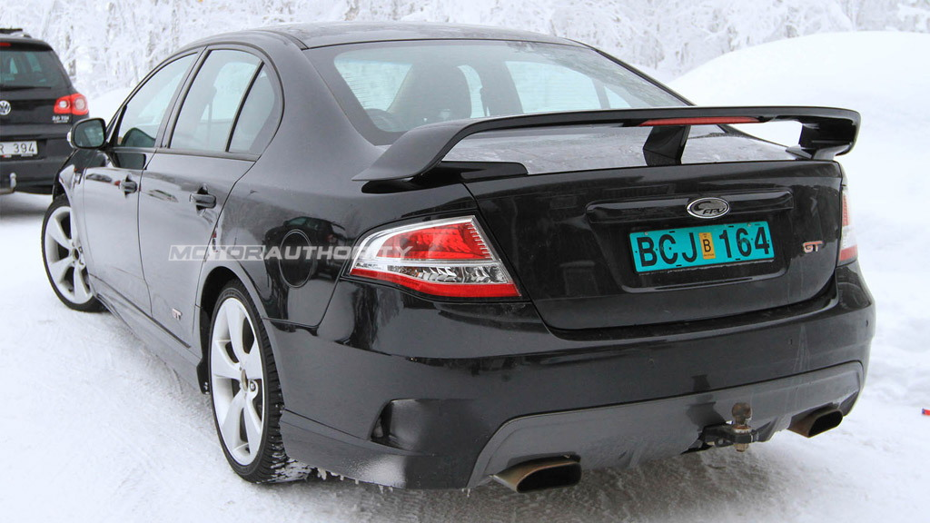 Ford Falcon FPV GT-H spy shots